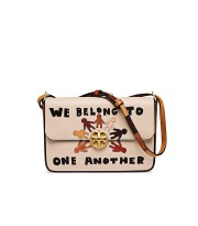 Tory Burch Harmony Shoulder Bag - (DB425 - Ivory)