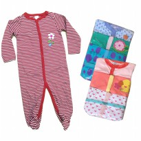 Sleepsuit Next Bean 3 in 1 - Unisex - Newborn - 12M - Baby Sleepsuit - isi 3pcs