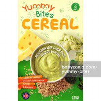 Yummy Bites Cereal 125 gr - Multigrain With Cauliflower, Broccoli Cheese