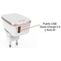 Charger Adapter LDNIO A1204Q Qualcomm Quick Charge 2.4A