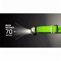 Senter Kepala / Headlamp 5 Led Energizer 200 lumen