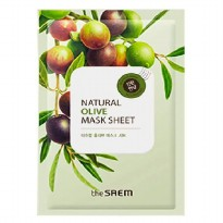 The Saem Natural Olive Mask Sheet