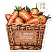 The Saem Natural Tox Carrot Mask Sheet