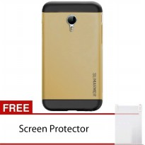 Back Case Meizu M2 Note Slim Armor - GOLD + Free Screen Protector