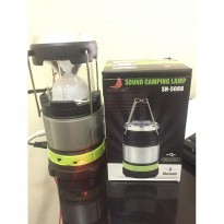 Lampu Tarik Emergency + Speaker Bluetooth + Power Bank
