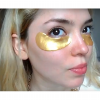 PROMO Masker Mata Crystal Gold Collagen Eye Mask PF7