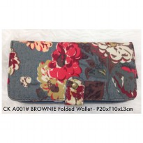 Dompet Wanita Import Fashion Brownie Folded Wallet A001 - 14