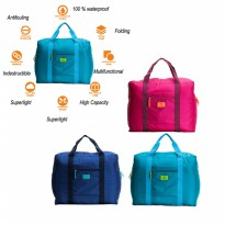 Tas Koper Bagasi Luggage Storage Organizer Foldable Travel Bag