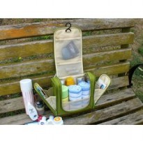 Toiletry Pouch Travel Bath Organizer Bag Tas Kosmetik Byk Sekat