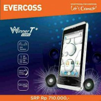 EVERCOSS A74E 4INCH. QUADCORE. RAM 1GB
