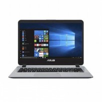 Asus VivoBook A407UF-BV511T Fingerprint Laptop - Grey