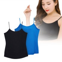 New Collection Solid Camis Casual Women/4 Color/Tanktop/Women Tanktop/T-Shirts