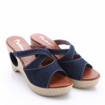 [FREE ONGKIR*] Dr.Kevin Canvas Sandals 3 models: 27254 Blue, Brown, Red