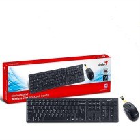 Genius Keyboard Mouse 8000ME Slimstar Wireless Original