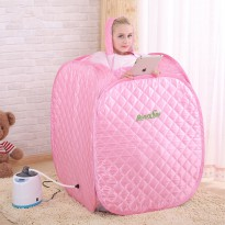 DIJAMIN ORIGINAL Portable Steam sauna / Slimming Sauna Portable / steam body/pelangsing badan