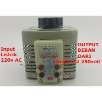 adjustable ac voltage regulator 500w