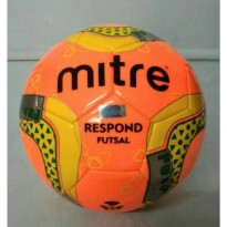 bola mitre respond futsal original orange