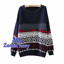 Pattern Tribal Sweater