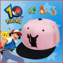 [CASH BACK] Topi POKEMON GO Pikachu Pink FH64553
