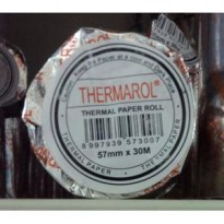 Thermal Paper / Thermal Roll - Thermarol - 57mm x 30M