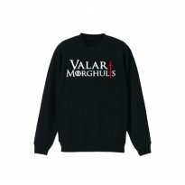 Sweater Valar Morghulis - Hitam