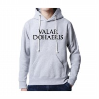 Hoodie Game Of Throne Dohaeris - Abu-abu