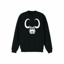 Sweater The Avengers Loki - Hitam