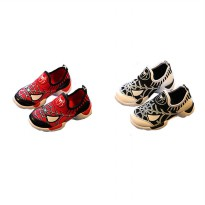 Sepatu Walker Fashion Spiderman Warna Merah dan Putih Size 21-30