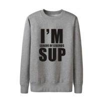 Sweater I'm League Of Legend SUP - Abu-abu Misty