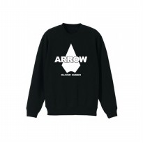 Sweater Arrow - Hitam