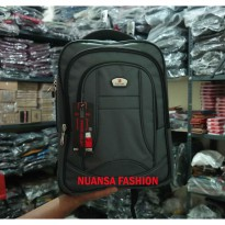 Backpack Tas Ransel Laptop POLO ACE 9064 Ori Free Rain Cover