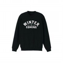 Sweater House Stark Winter Is Coming - Hitam