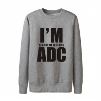 Sweater I'm League Of Legend ADC - Abu-abu Misty