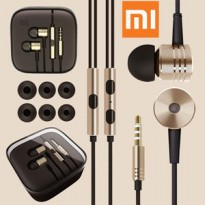 Handsfree XIAOMI 2nd Piston GOLD Edition Original | Headset Xiao Mi