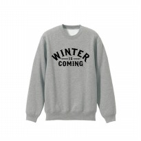 Sweater House Stark Winter Is Coming - Abu-abu Misty