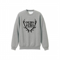 Sweater Game Of Trhone Our Is Pury Baratheon - Abu-abu Misty