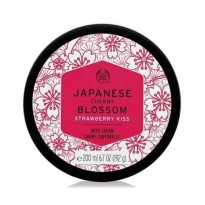 THE BODY SHOP JAPANESE CHERRY BLOSSOM STRAWBERRY KISS BODY BUTTER 200ML