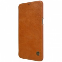 Nillkin Qin Leather Flip Case OnePlus 5T Brown