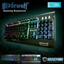 keyboard gaming sades bladewolf