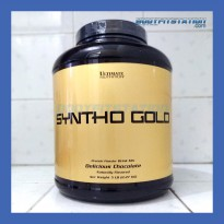 Ultimate Nutrition Syntha Gold 5 Lbs Delicious Chocolate - 5lb 5lbs best blend lb new otot protein suplemen supplement susu sinta sintha synta whey un