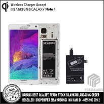 Qi Wireless Charger Accept for Samsung Galaxy Note 4
