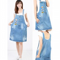 Overall Dress Jeans Patch Japan ONE JI17903