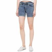 2Nd RED Jeans Hot Pants/Celana pendek Jeans wanita/Short pant ladies/Celana pendek santai-Ice wash Blue 263204