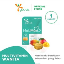 Youvit Multivitamin Gummy MultiMum 1 Sachet isi 7 gummy
