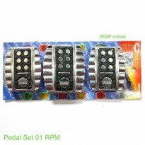 Pedal Set 01 RPM Isi 3pc