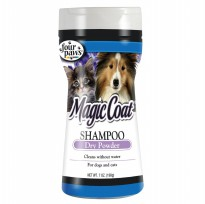 [FOUR PAWS] Magic Coat Dry Shampoo Powder for Dogs and Cats, 7 oz.