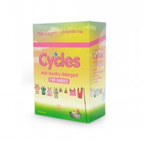 CYCLES BABY MILD LAUNDRY DETERGENT POWDER PACK 1000gr (Deterjen Bayi)