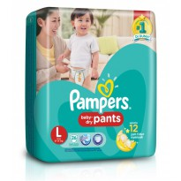 Pampers Popok Baby Dry Pants L26