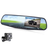 [globalbuy] Full HD 1080P Car Dvr Camera Night Vision 4.3 Inch Rearview Mirror Digital Vid/4300643