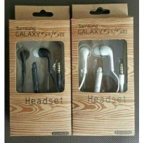 HEADSET FOR SAMSUNG GALAXY S3/S4 PACKING BATIK